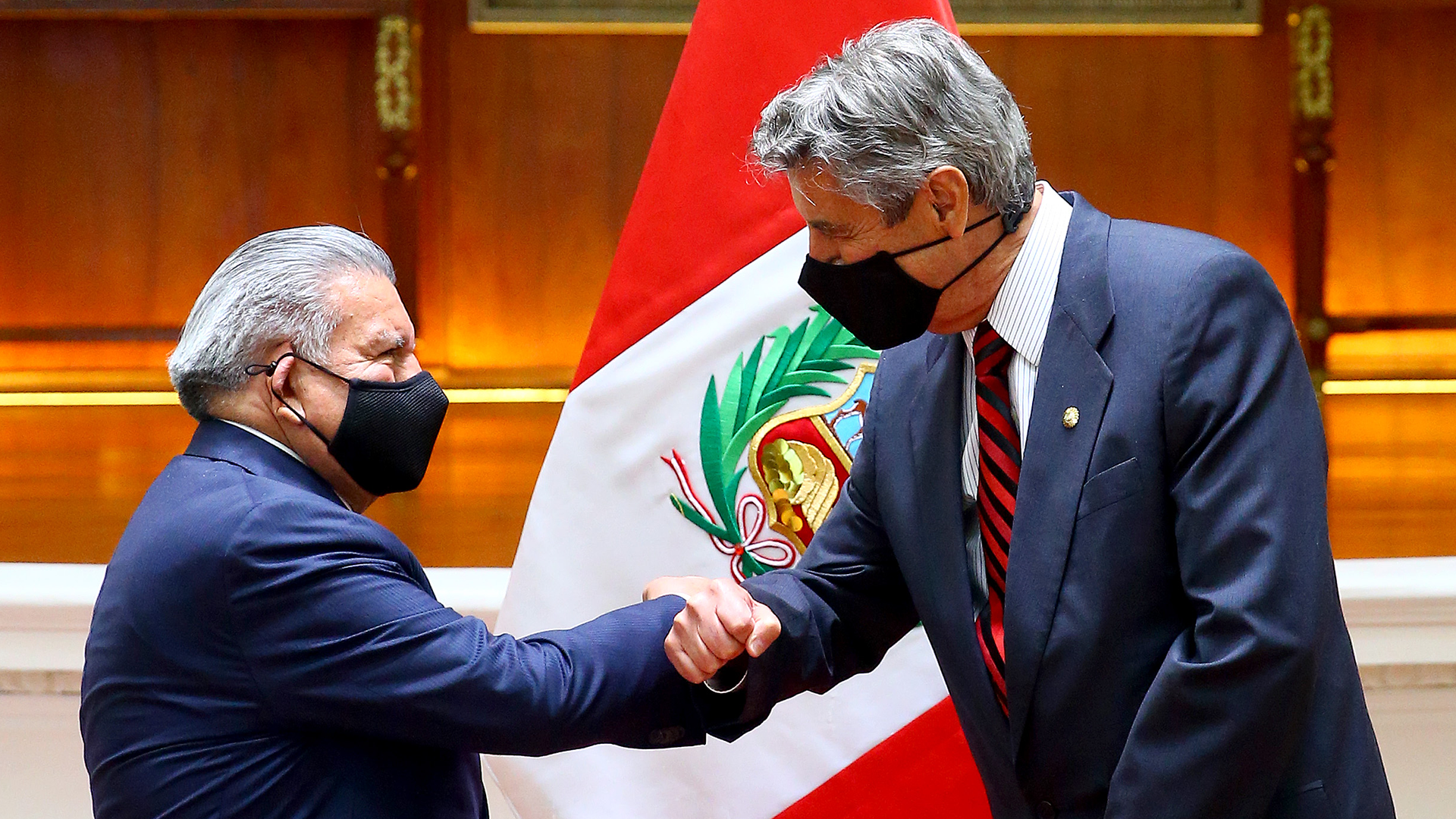 César Acuña se reunió con el presidente Francisco Sagasti
